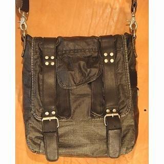 Picture of b3Labo Buckle-Detail Shoulder Bag Black - One Size 1014382515 (b3Labo, Shoulder Bags, Japan Bags, Mens Bags, Mens Shoulder Bags)