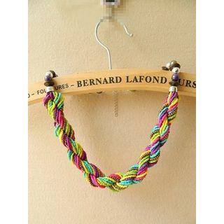 Bohemian Bead Necklace