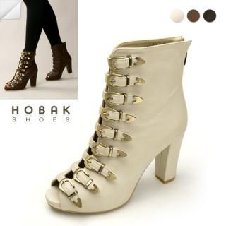 Buy HOBAK girls Open-Toe Ankle Boots 1022098926