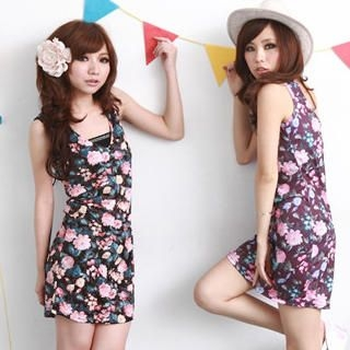 Buy ZOO Floral Tank Dress 1023071549
