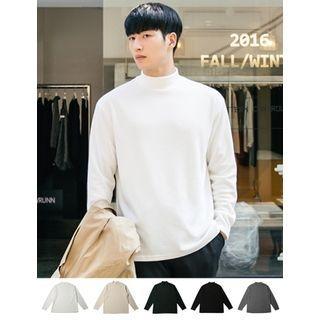 Long-Sleeve Mock-Neck T-Shirt 1057266118