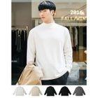 Long-Sleeve Mock-Neck T-Shirt 1596