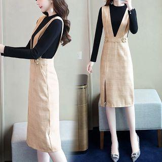 Long-sleeve | T-Shirt | Plaid | Dress