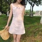 Frill Trim A-Line Dress 1596
