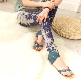 Picture of Fashion Lady Studded Cuff Sandals 1023002642 (Sandals, Fashion Lady Shoes, China Shoes, Womens Shoes, Womens Sandals)