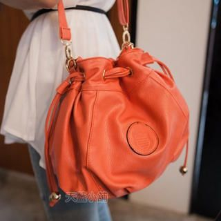 Chain-Strap Bucket Bag