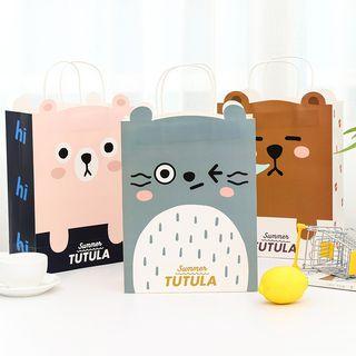 Animal   Print   Gift   Bag