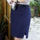 Pencil Mini Skirt 1596