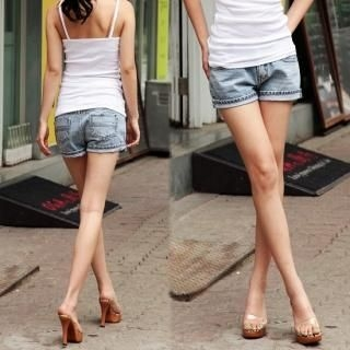 Buy Blue Is Denim Shorts 1022813257
