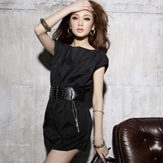 Picture of I'Miusa Zip-Pocket Mini Dress 1022687300 (I'Miusa Dresses, Womens Dresses, Taiwan Dresses)