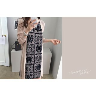 Open-Front Ribbed Cardigan 1060066412