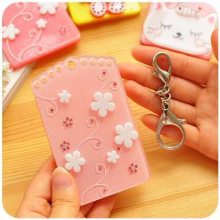 Halter Floral Pattern Card Holder