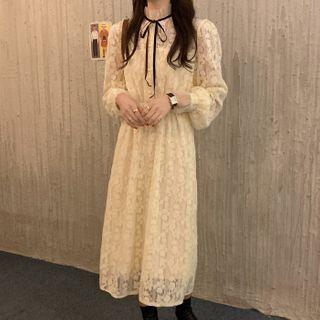Long-sleeve | Dress | Lace | Size | One