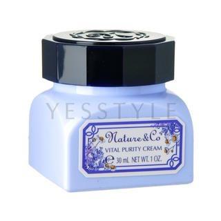 Kose - Nature & Co Vital Purity Cream 30g