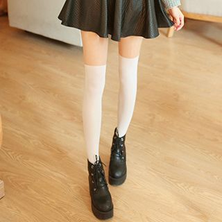Two-Tone Tights 1049636394