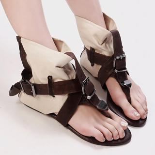 Buy Kvoll Belted Cuff Sandals 1022986665