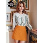 Lace-Collar Patterned Top 1596