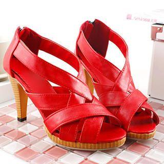 Buy KAWO Cross-Strap Sandals 1022774227