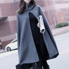 Hooded Cape Jacket 1596