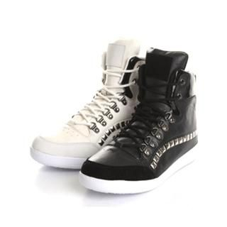 Buy ISNOM Studded High-Top Sneakers 1022446286