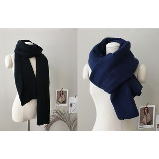 Colored Knit Scarf 1062737809