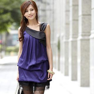 Buy 59th Street Draped Drop-Waist Dress Purple – One size 1022779347