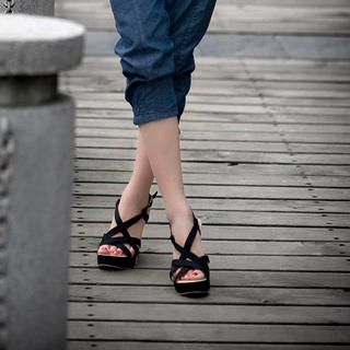 Buy Smoothie Strappy Wedge Sandals 1022779954