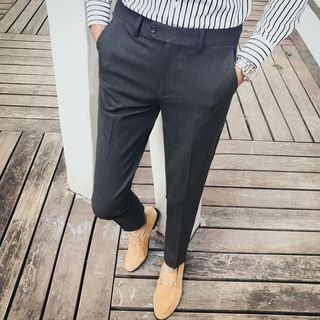 Plain Slim Fit Pants