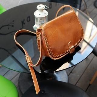 Buy pinkdiamond Leather Shoulder Bag 1022482487