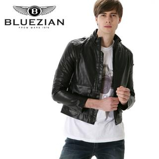 Picture of BLUEZIAN Synthetic Leather Jacket 1022553039 (BLUEZIAN, Mens Outerwear, Korea)