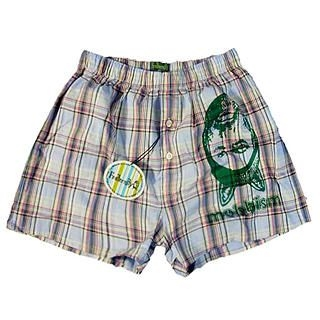 Buy Fraternity Printed Gingham Boxer 1023006516