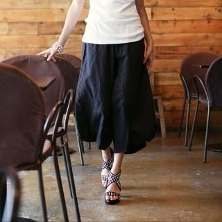Picture of Vanilla French Wide Leg Pants 1022852191 (Vanilla French Pants, South Korea Pants)