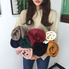 Drop Shoulder Sweater 1596