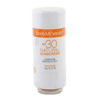 BareMinerals Natural Sunscreen SPF 30 For Face and Body - Light