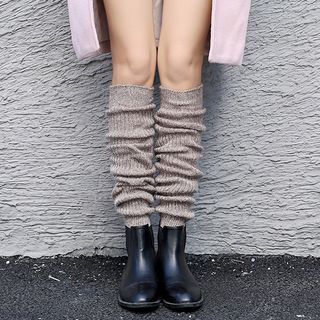 Image of Chunky Knit Leg Warmers