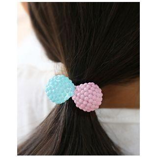Dual-Ball Elastic Hair Tie 1054794539