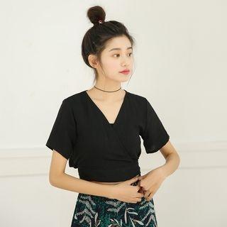 Short-Sleeve V-neck T-shirt 1066930765