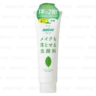 Kracie - Naive Makeup Remover Cleansing Foam (Green Tea) 200g 1055798033