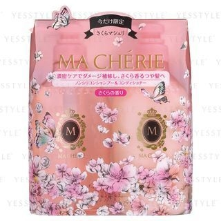 Shiseido - MA CHERIE Sakura Set: Shampoo 450ml + Conditioner 450ml (Limited Edition) 2 pcs 1057908092