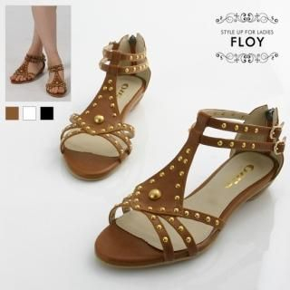 Buy FLOY SHOES Studded Sandals 1023053719