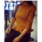 Ruffle Hem Sweater 1596