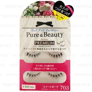 Image of ANNEX JAPAN - Pure Beauty Premium Selections Eyelashes (#PB-703) 2 pairs