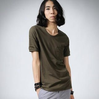 Picture of deepstyle Pocket Tee Shirt 1022857580 (deepstyle, Mens Tees, South Korea)
