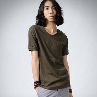 Buy deepstyle Pocket Tee Shirt 1022857580