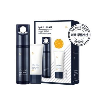IPKN - Man Power Active All In One Pro With Cleansing Foam 120ml + 70ml 2pcs 1061422316