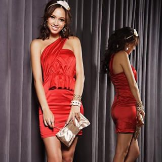 Buy Joanne Kitten Sleeveless Ruched Party Dress 1022567685