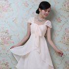 Sleeveless Chiffon Party Dress 1596