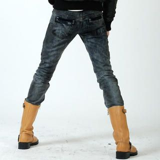 Buy deepstyle Washed Skinny Jeans 1021619854