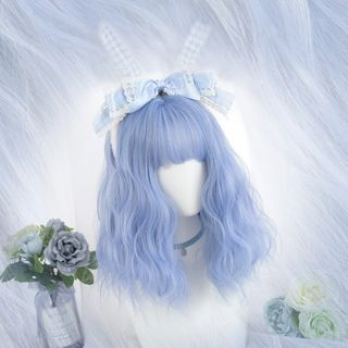 Image of Medium Full Wig - Wavy Transparent - One Size