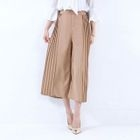 Pleated Cropped Pants 1596